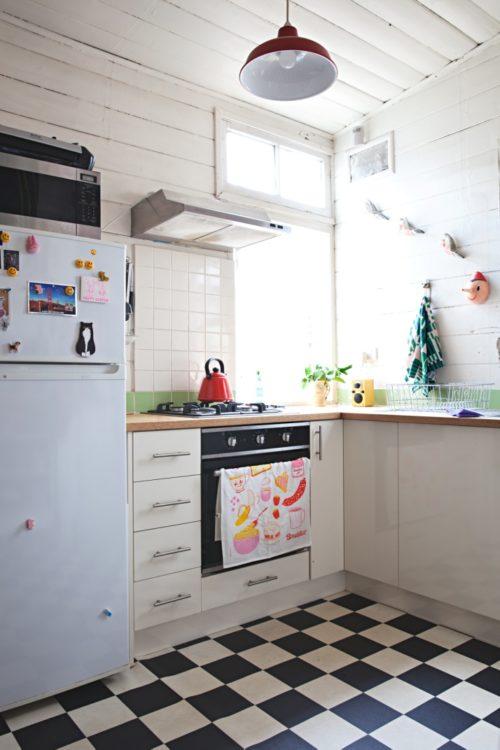 Desain Dapur Ukuran 2x2