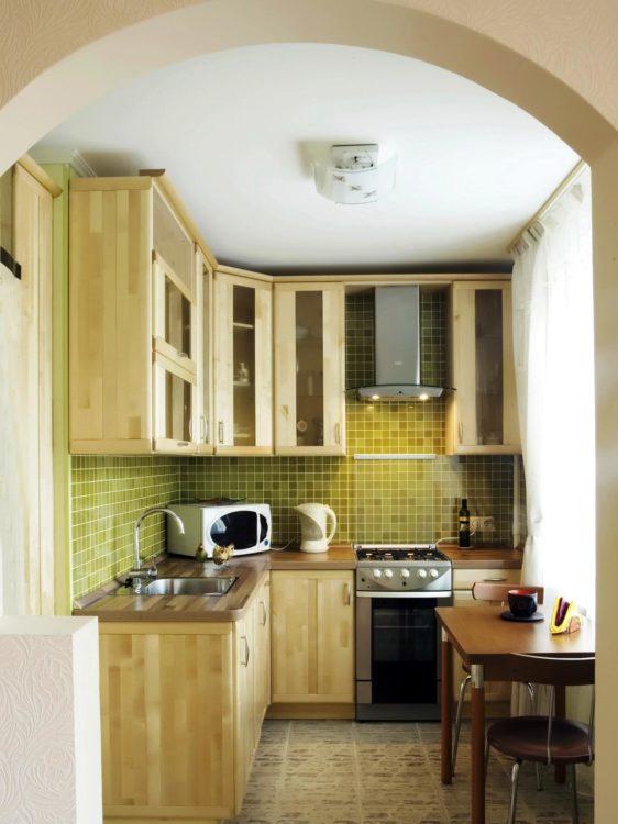 Desain Dapur Kecil Ukuran 2x2