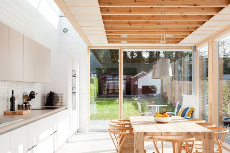 Ide desain dapur terbuka minimalis