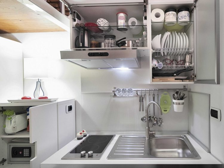 15 Desain Dapur Sederhana Tanpa Kitchen Set Rapi Dan Nyaman