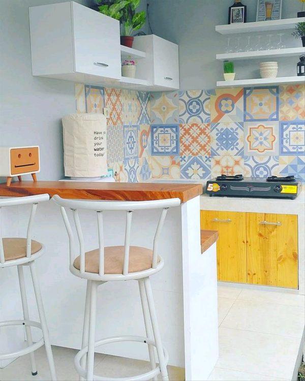 Motif Keramik Dapur