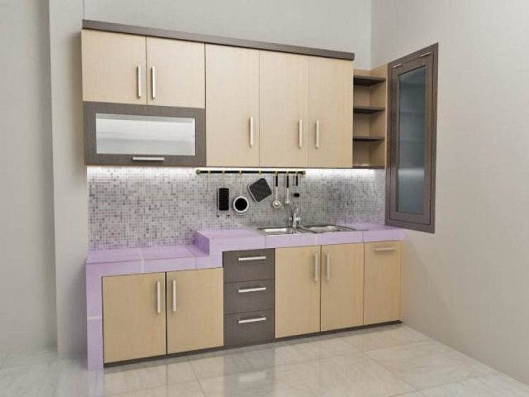 Kitchen set Minimalis Dapur Mungil