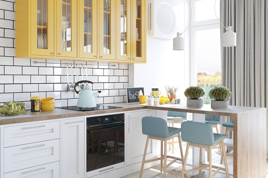 Kitchen set Minimalis Dapur Kecil