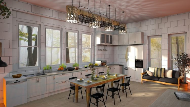 Ide Motif Keramik Dapur