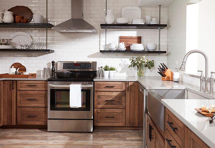 17 Inspirasi Lemari Dapur Gantung untuk Dapur yang Menarik