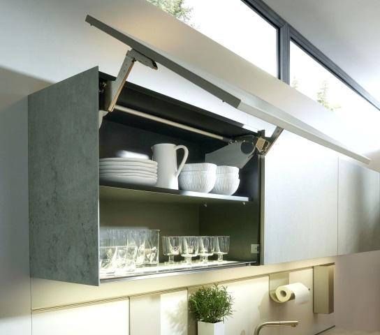 Hasil gambar untuk Lemari Gantung Senada dengan Meja Dapur