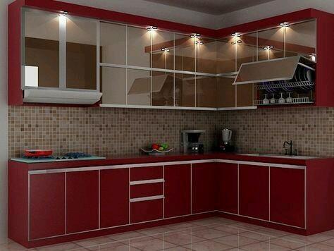 10 Inspirasi Lemari Dapur Minimalis Modern Dengan Tampilan Yang Menawan