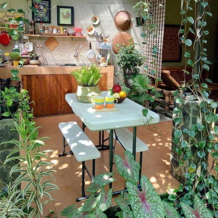10 Inspirasi Desain Dapur Terbuka Dibelakang Rumah Paling Hits Yakin Sudah Tahu