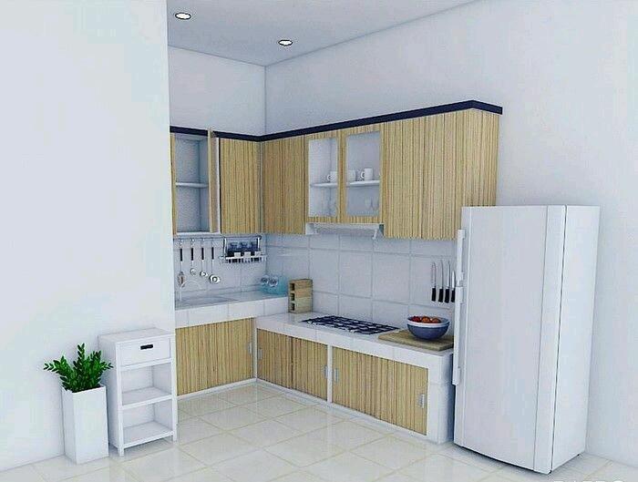 Denah Dapur Minimalis