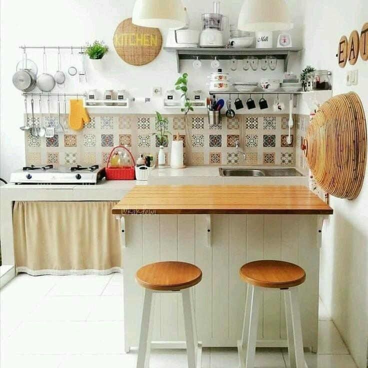 Bingung Menata Dapur Tanpa Kitchen Set Ini Dia 10 Inspirasinya Untuk Anda