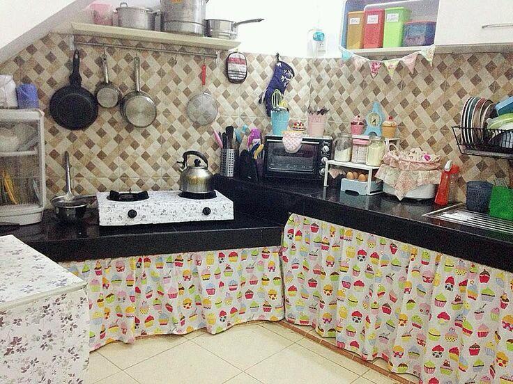 Dapur Tanpa Kitchen Set