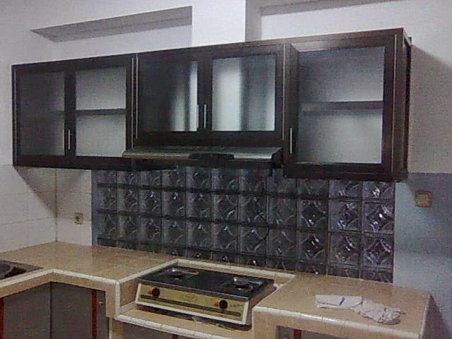 Model Kitchen Set Aluminium MinimaList Art