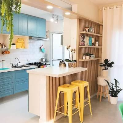 Interior Dapur Kecil