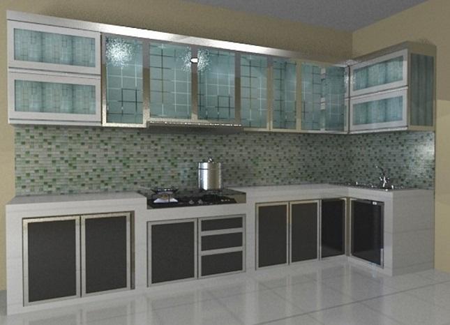 Model Lemari Dapur Gantung Terbaru 20181 - Informasi Desain dan ...