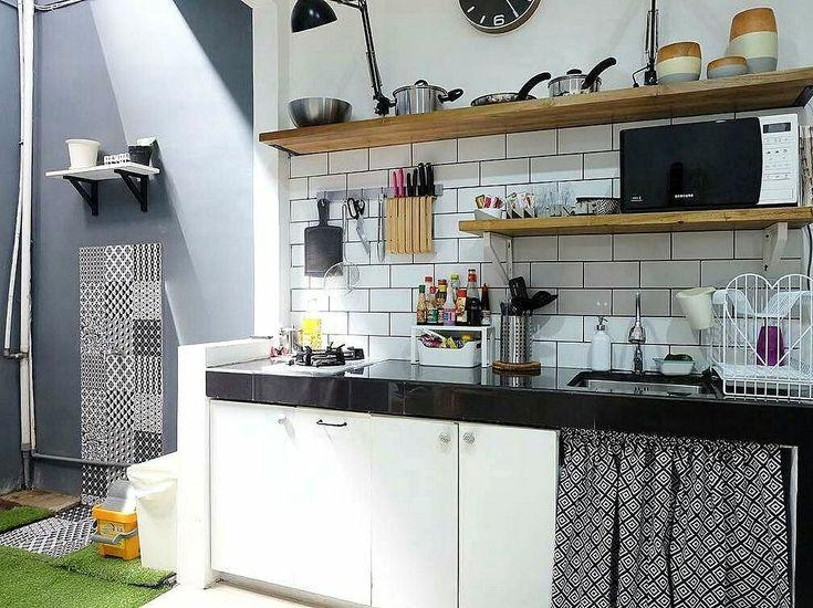 Kumpulan 10 Desain Dapur Kecil Minimalis Yang Super Manis